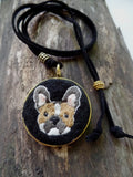 FRENCH BULLDOG NECKLACE pendant