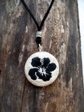 Hibiscus Flower Necklace