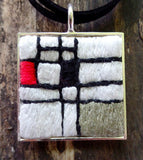 Mondrian-ish Necklace