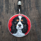 Custom Pet Necklace with Short Cord