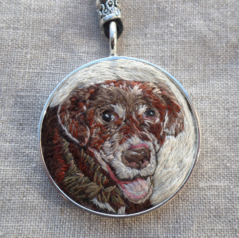Custom Keepsake Pet Necklace