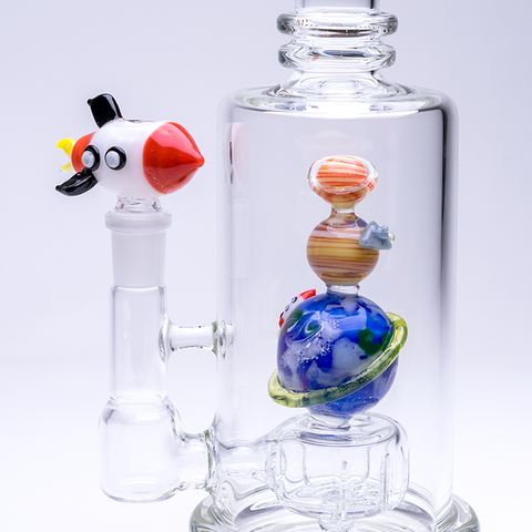 Empire Glassworks - Galaxy UV Reactive Water Pipe