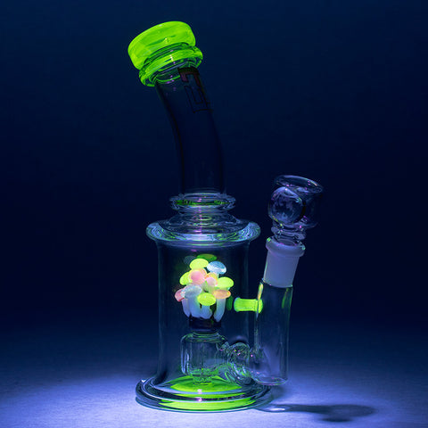 Empire Glassworks - Illuminati Shroom Water Pipe