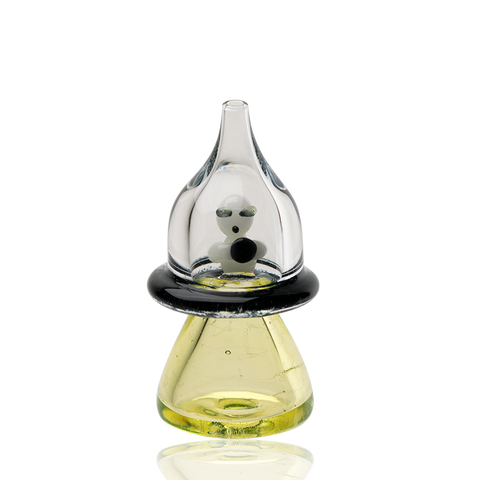 Empire Glassworks - Martian UFO UV Reactive Carb Cap
