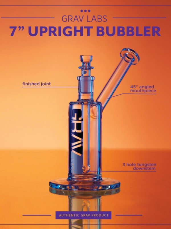 Grav Labs - Upright Bubbler 7''