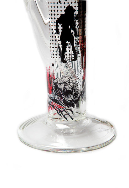 AMG Glass - Zombie Invasion Straight Tube 18''