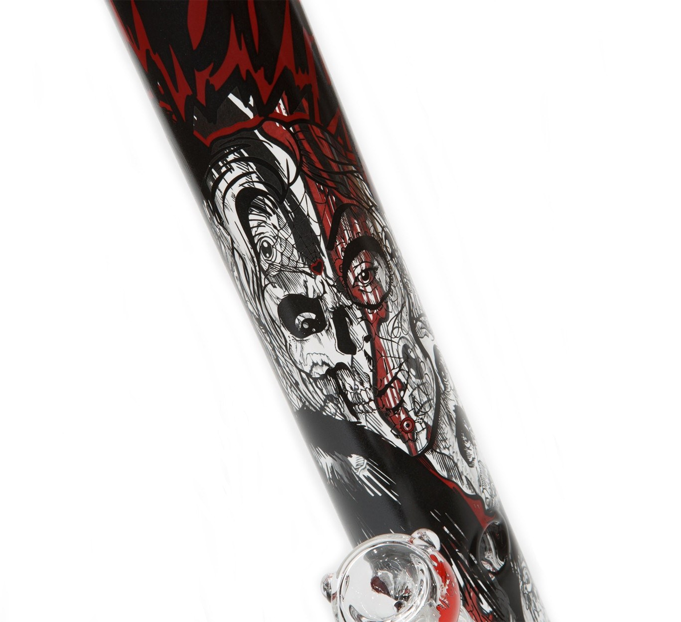 AMG Glass - Zombies Straight Tube 18''