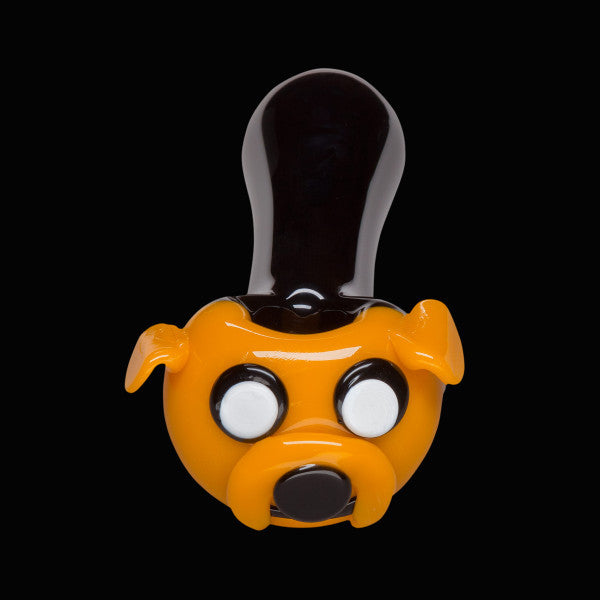 Chameleon Glass - Jake the Dog Hand pipe