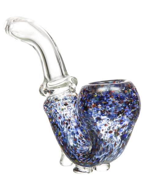 Standing Colored Glass Sherlock Pipe