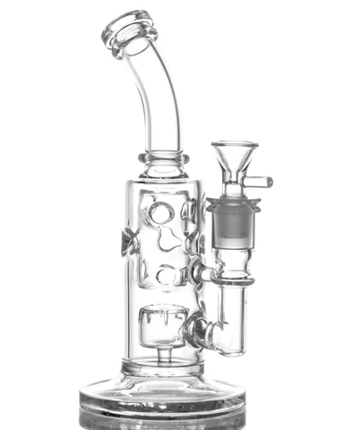BoroDirect - Mini Barrel to Swiss Perc Water Pipe