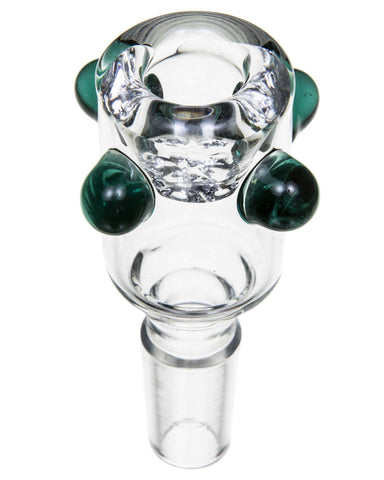 Half Fab Egg Perc Water Pipe