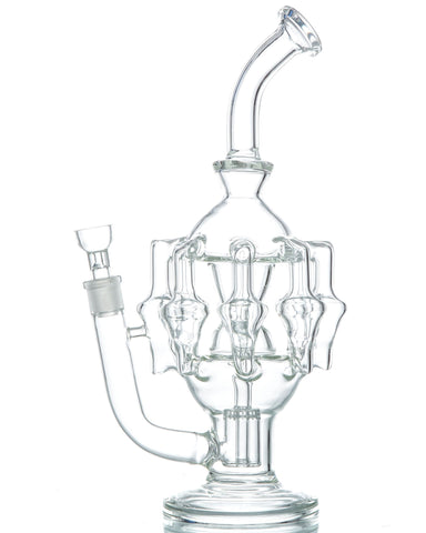 BoroDirect - Eight-Arm Chandelier Recycler 12''