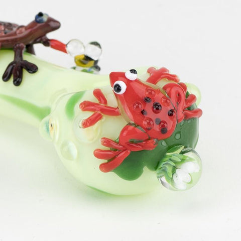 Empire Glassworks - Ribbit Handpipe