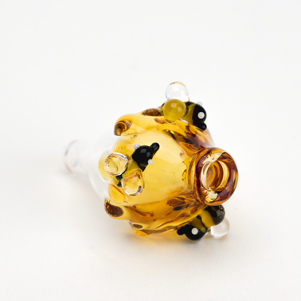 Empire Glassworks - Honey and Bees Carb Cap