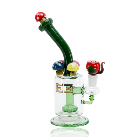 Empire Glassworks - Mushroom Kingdom Themed Bong