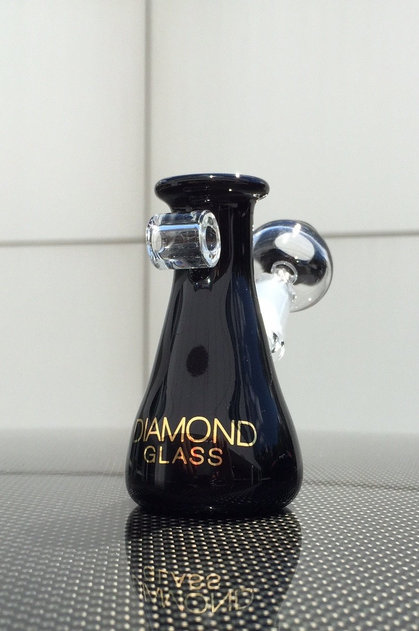 Diamond Glass - Mini Beaker Pendant Dab Rig