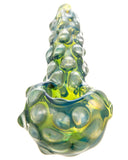 Green and Blue Scaled Hand Pipe