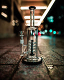 The Grav Labs Coil water pipe on the street