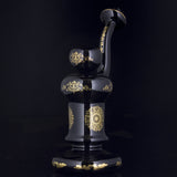 "China Glass - ""Genghis"" Standing Bubbler"