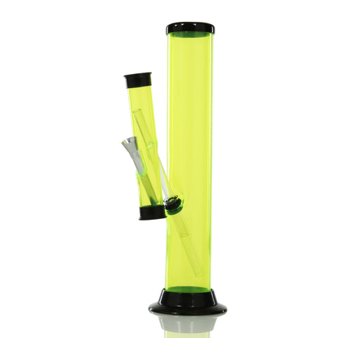 UPC - Double Straight Tube Acrylic Water Pipe 12''