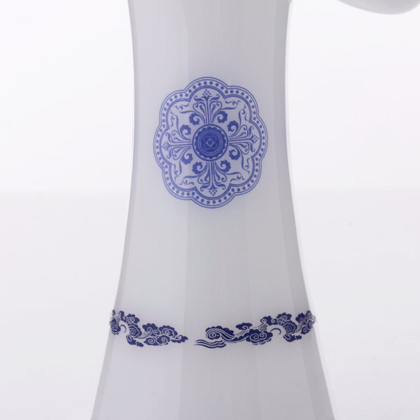 The China Glass Song Dynasty Vase Water Pipe