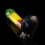 Rasta Frit Black Head Pipe