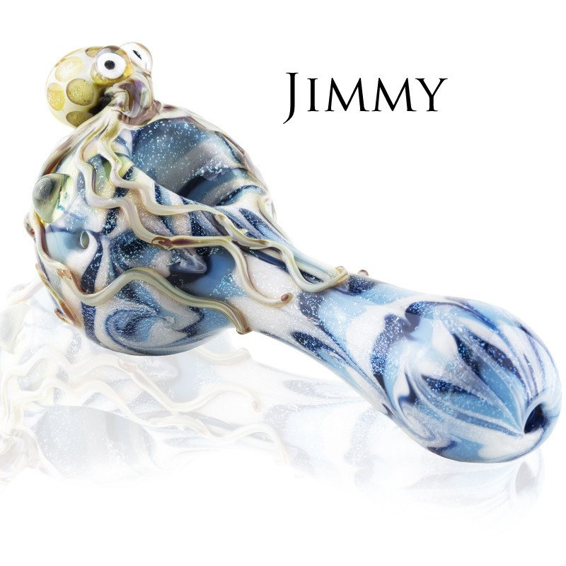 Empire Glassworks - Octopus Handpipe