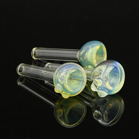 9mm Silver Fumed Color Changing Pull Stem