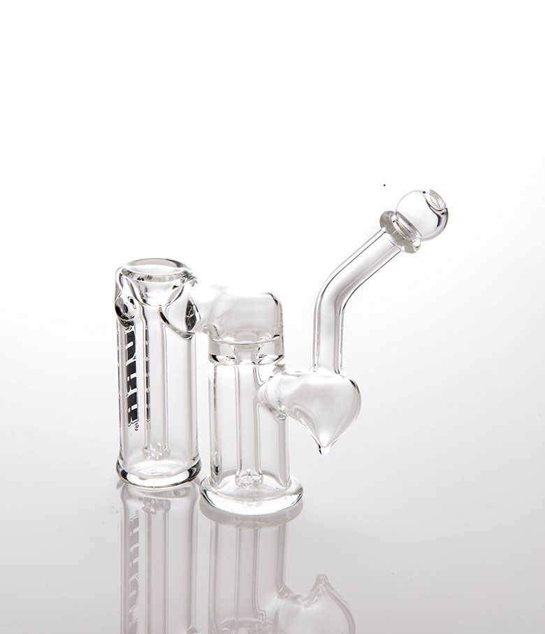 Purr Glass - Pocket Double Bubbler