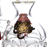 Sesh Supply - Zelus Honey Dripped Faberge Egg Rig