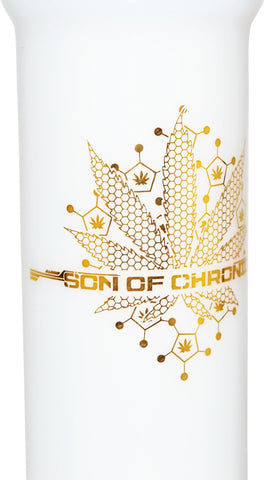 Son of Chronic - Jade White Tree Beaker Bong 18''
