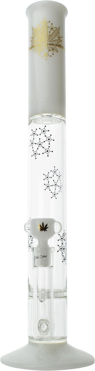 Son of Chronic - White Jade Honeycomb Straight Tube 18''