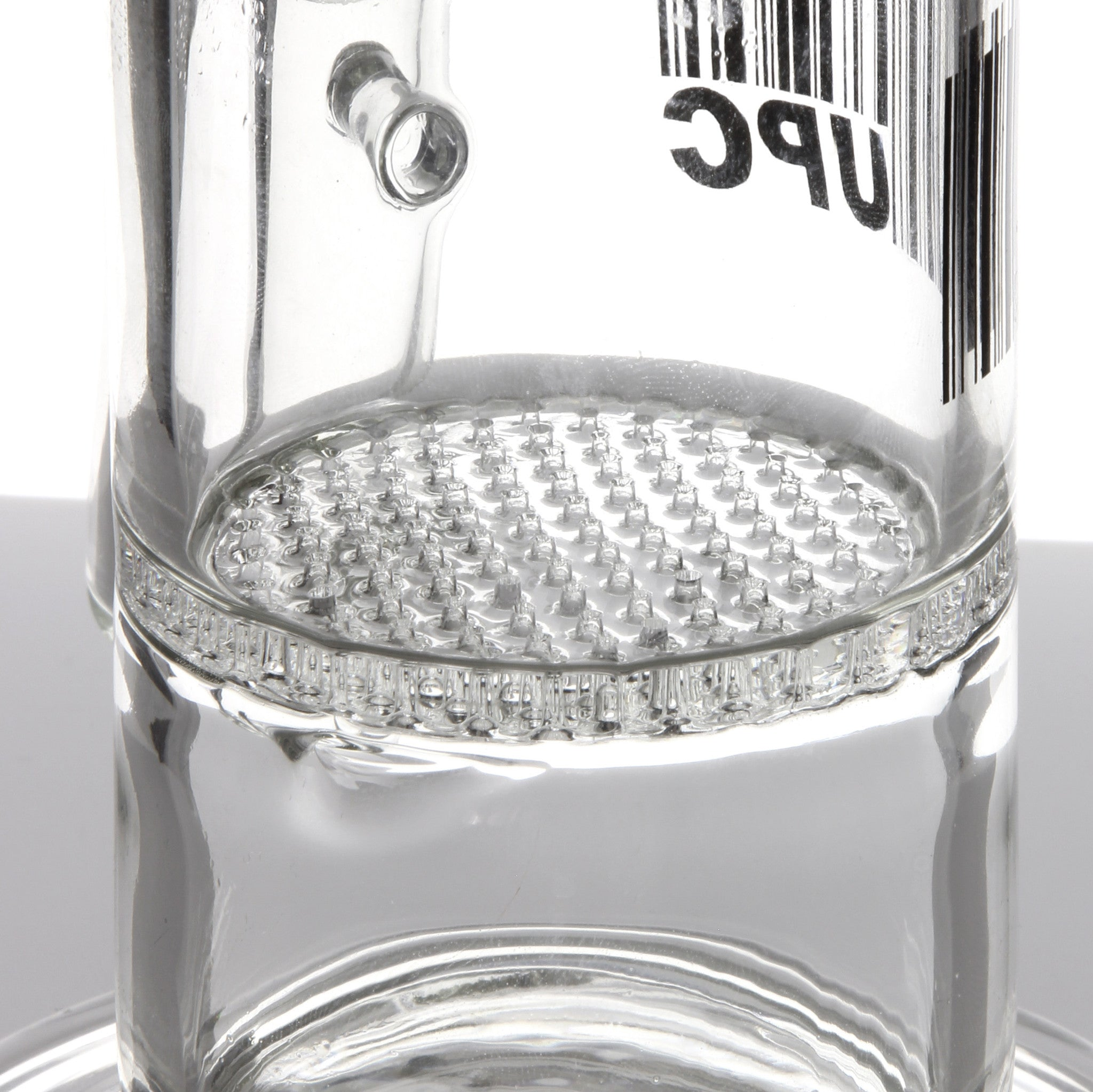 UPC - Honeycomb Perc Water Pipe with Splash Guard