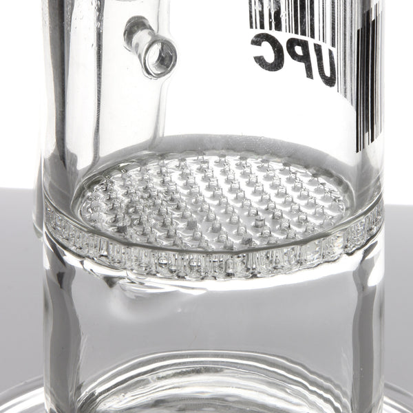 UPC - Honeycomb Perc Water Pipe with Splash Guard 11''