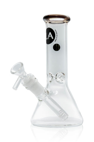 LA Pipes - Colored Lip Beaker 8''