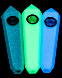 DankGeek - Luminous Glow In the Dark Stone Pipe
