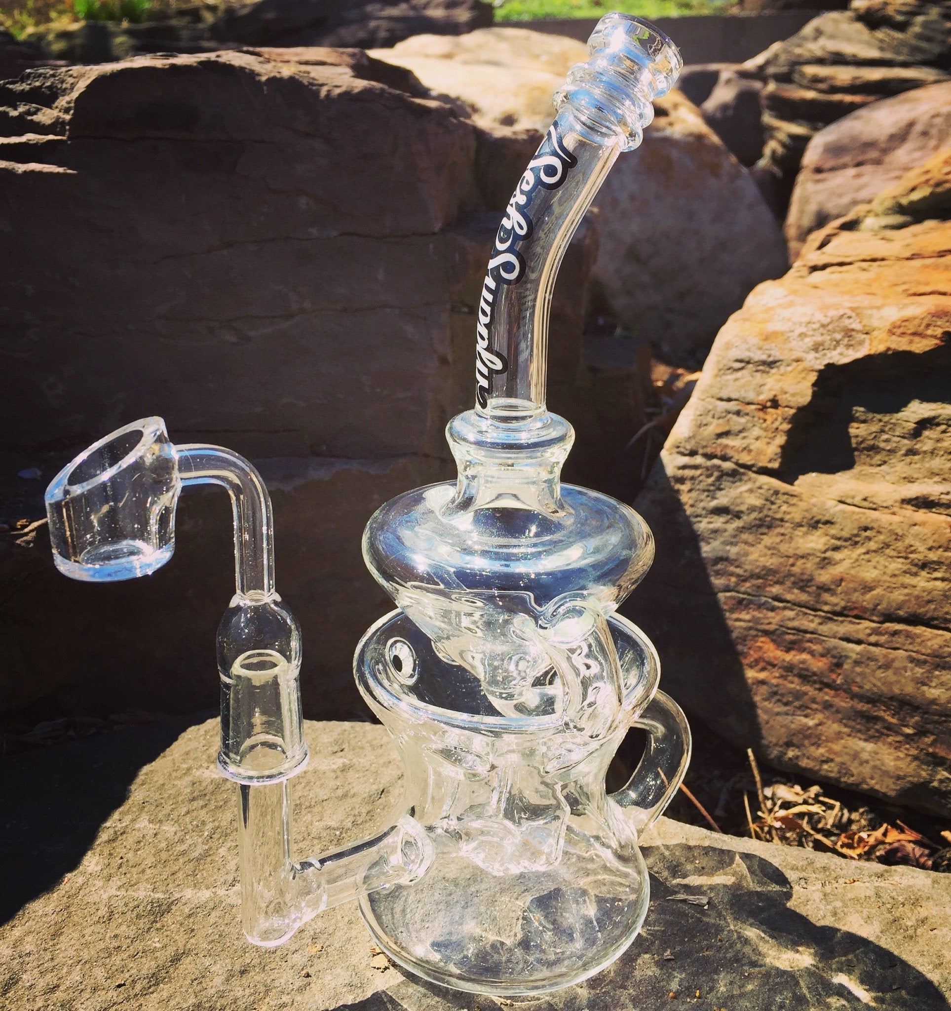 Sesh Suppy - Orion Cube Perc Swiss Recycler
