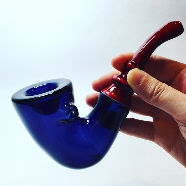 JMass Glass - Sherlock Pipe
