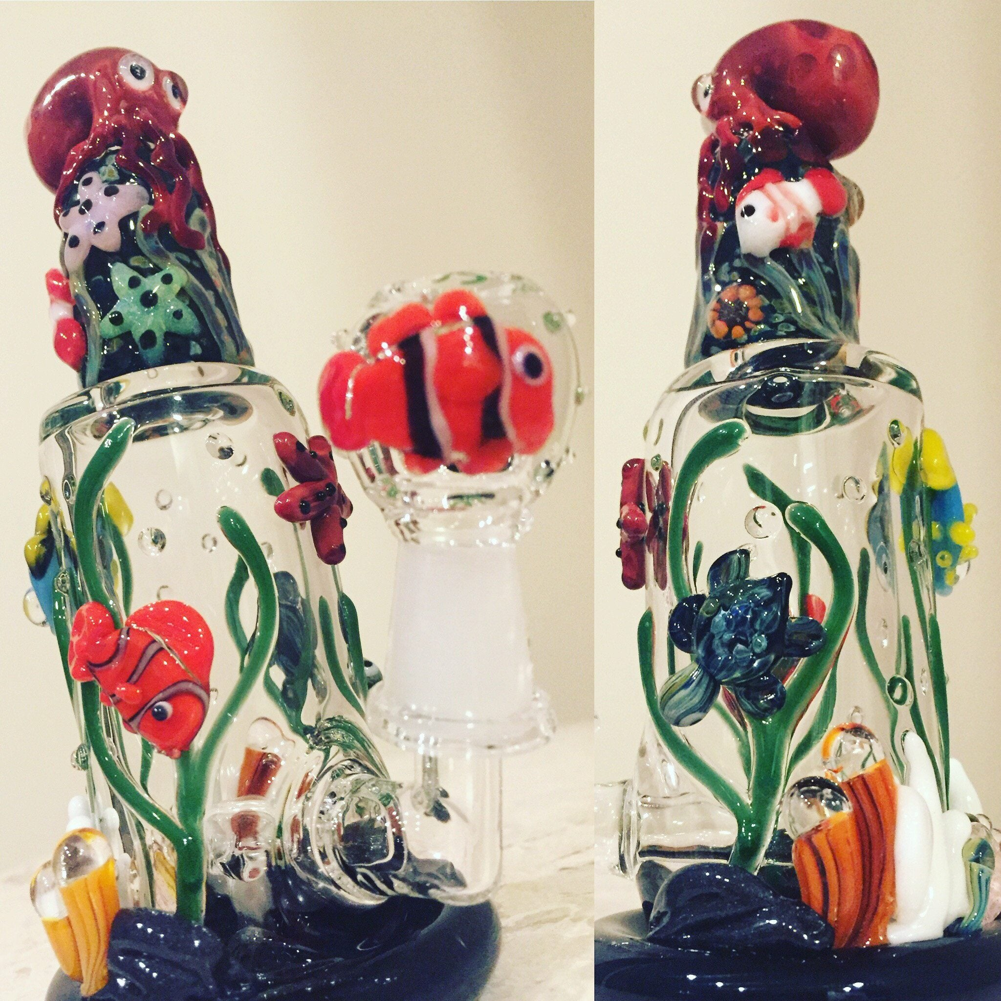 Empire Glassworks - Under The Sea Octopus Rig