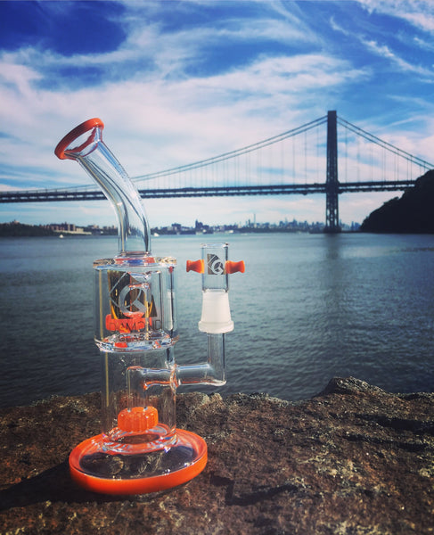 Diamond Glass - Hang Man Circle Perc