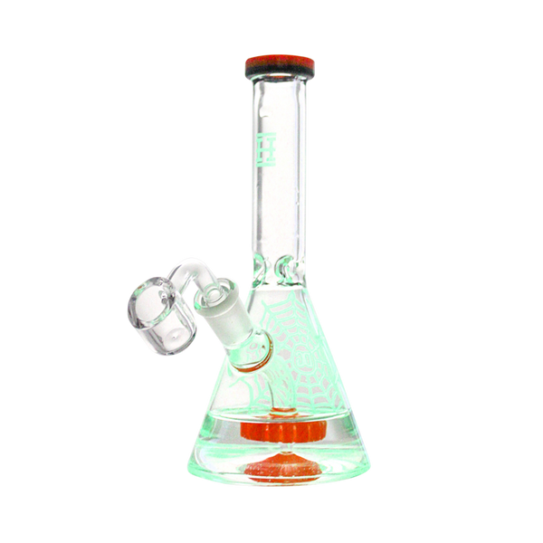 Hemper - Limited Edition Glow-In-The-Dark Beaker by Dabbing Granny