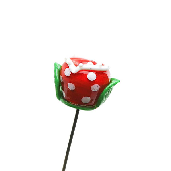 Empire Glassworks - Piranha Plant Poker