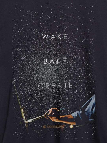 MEN'S WAKE BAKE CREATE TEE