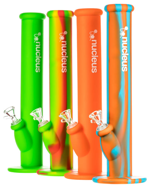 Nucleus - Silicone Straight Tube Bong