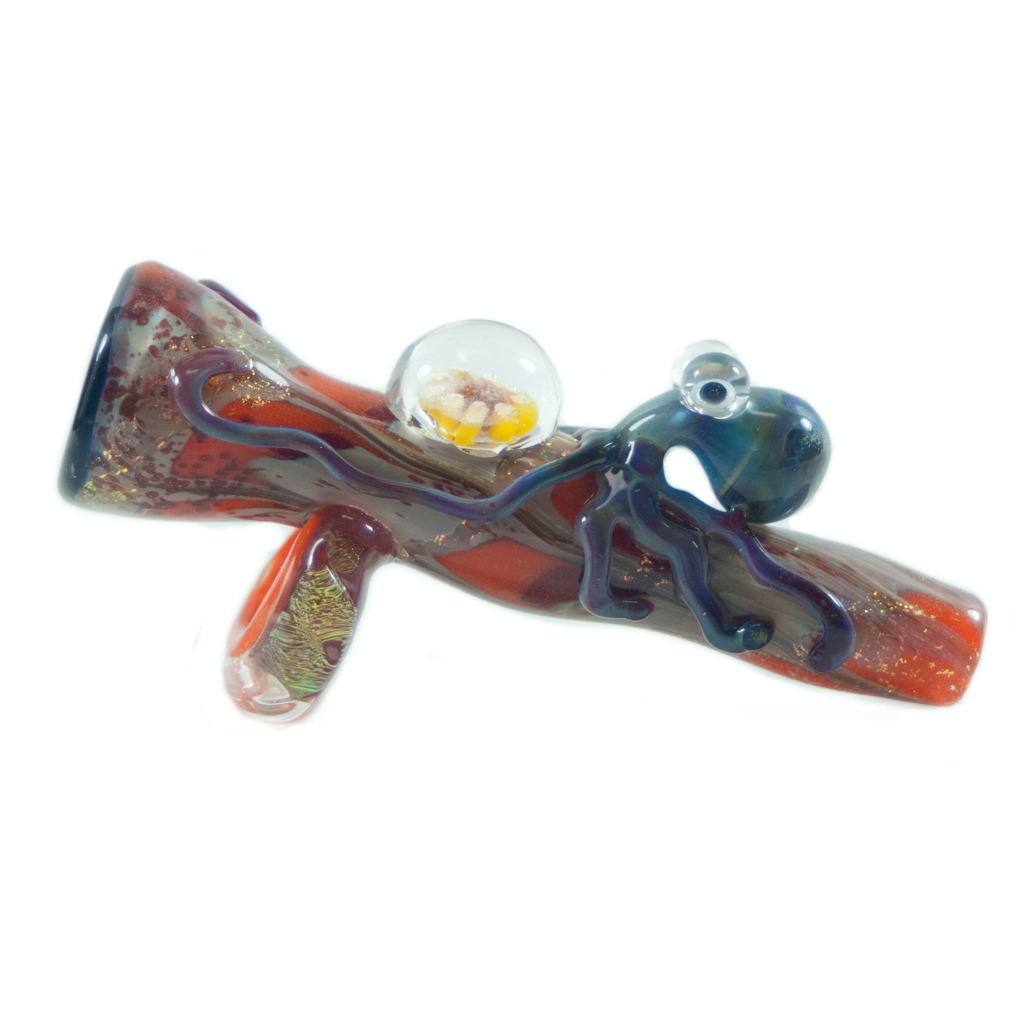 Empire Glassworks - Octopus Chillum with Glass Opal