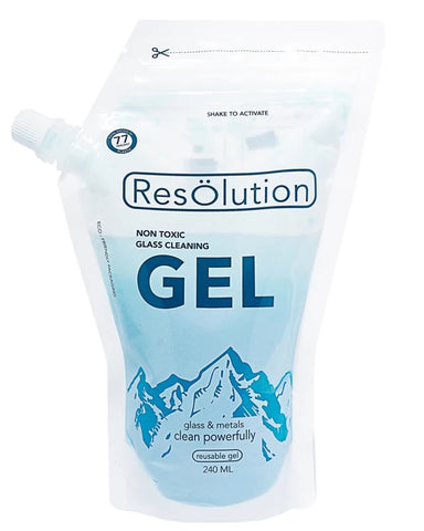 Gel Solution Glass Cleaner