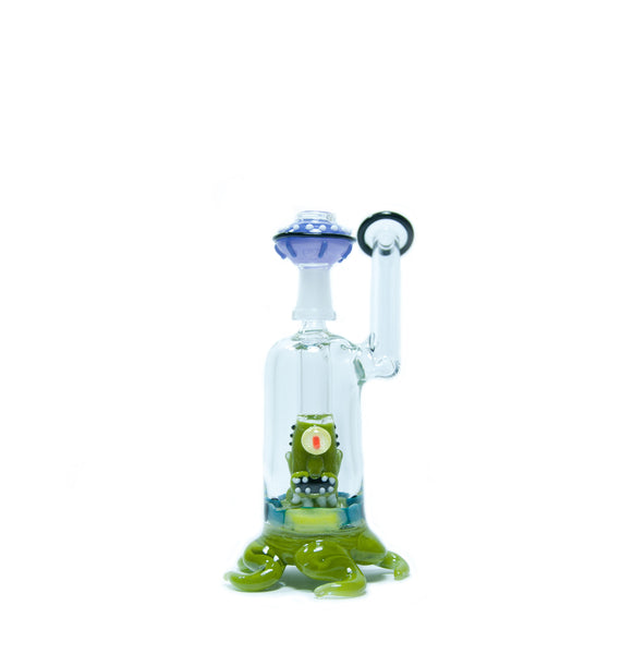 Empire Glassworks - One Eyed Alien Dab Rig