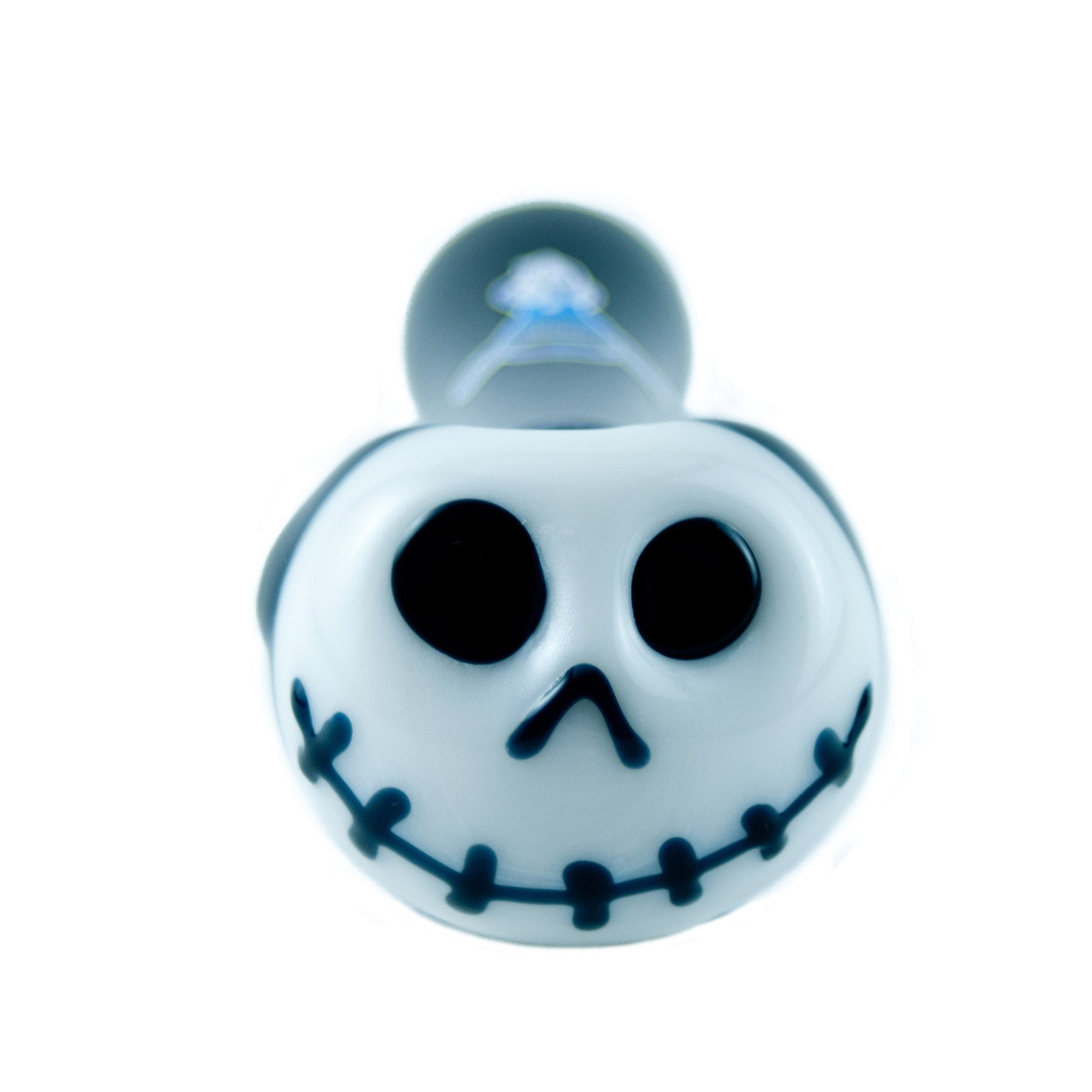 Chameleon Glass - Skellington Pipe Glow in the Dark