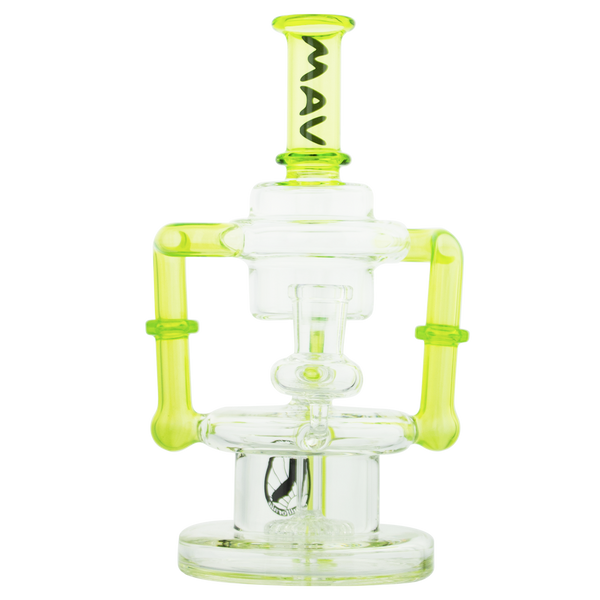 Maverick Glass - THE GRIFFITH MICROSCOPIC SLITTED PUCK RECYCLER