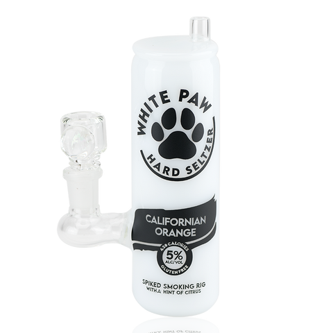 Empire Glassworks - White Paw Water Pipe